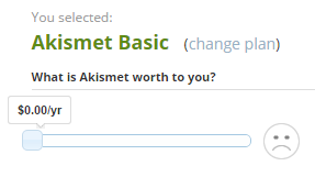 akismet free