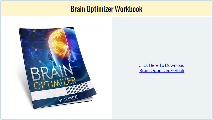 Brain Optimizer Workbook