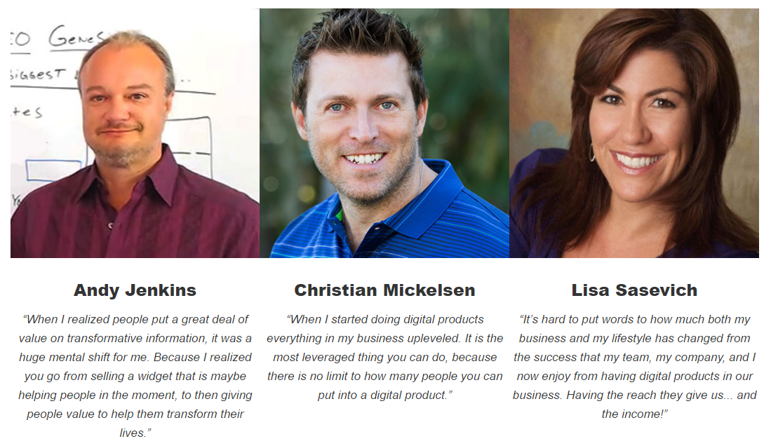 digital marketing blueprint testimonials