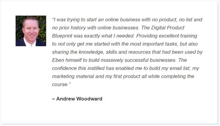 digital product blueprint testimonials