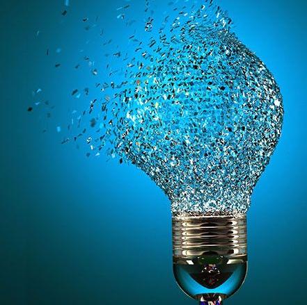 disruptive innovation bitcoin