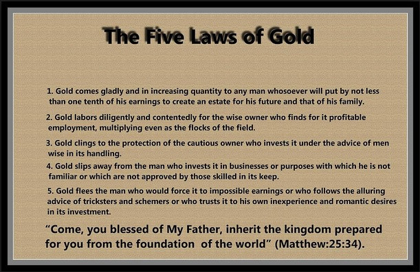 Five Laws of Gold