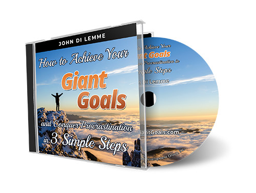 How to Achieve Your Giant Goals and Conquer Procrastination in *3* Easy Steps