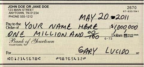 million dollar document