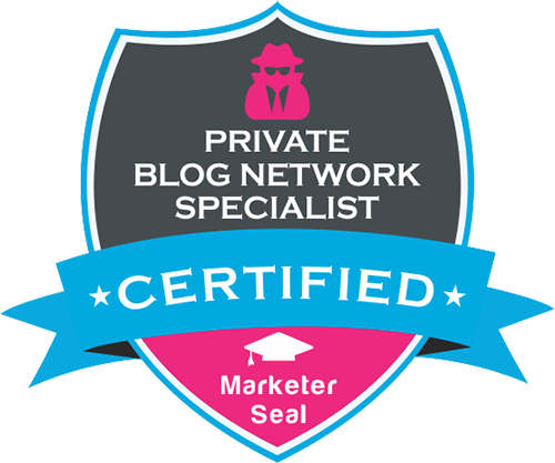 Private Blog Network Specialist