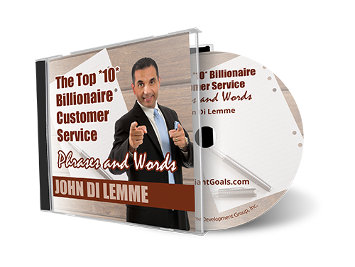 The Top 10 Billionaire Extreme Customer Service Phrases & Words