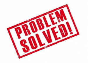 Resultado de imagem para problem solved
