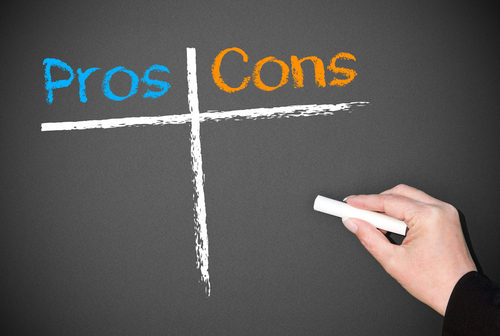bitcoin pros and cons